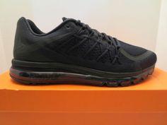 d342a3151acc78 NIKE AIR MAX 2015 Triple Black 698902 020 sneaker shoe mens size 10
