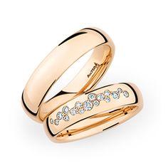 Ein Kassiker in Rosegold...wobei er auch in Weissgold oder Gelbgold perfekt aussieht www.marrying.at