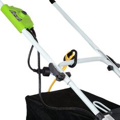 GreenWorks 25142 10 Amp Corded 16-Inch Lawn Mower   GreenWorks 25142 10 Amp Corded 16-Inch Lawn Mower Greenworks, 10 Amp 16-Inch 2 in 1, Rear Bag or Mulch Electric Lawn Mower, Converts Easily from Rear Bag to Mulch, Model # 25142  http://www.thelawngarden.com/greenworks-25142-10-amp-corded-16-inch-lawn-mower/