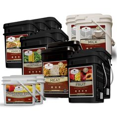 Emergency Food Supply Gluten-free Deluxe Savings Package - 3 Month Supply for 1 Person