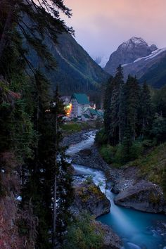 wonderous-world:  Dombay, Karachay-Cherkess Republic, Russia by Александров…