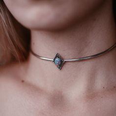 ∘✥∘ Everlast Choker Ocean Blue Opal ∘✥∘ ✵ Visit www.shopdixi.com to shop ✵ hippie // boho // bohemian // gypsy // mystic