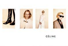 Celine Fall/Winter  + Juergen-Teller