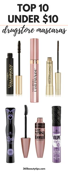 #10under10 #drugstoremakeup #drugstoremascara #bestmascaras #makeup #mascara