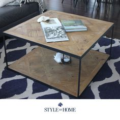 like the style of the coffee table