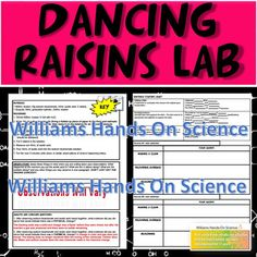 States of Matter/Chemical & Physical Changes Dancing Raisins Lab