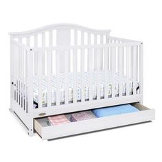 Buy Solano' 4-in-1 Convertible Crib With Storage Drawer Online & Reviews
