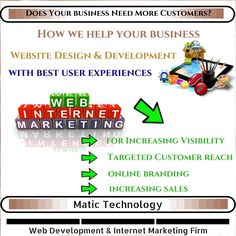 Does Your #business Need More #Customers?  Book A Free Consultation Now Via: leads@matictechnology.com