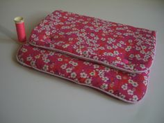 Pochette tablette en Liberty
