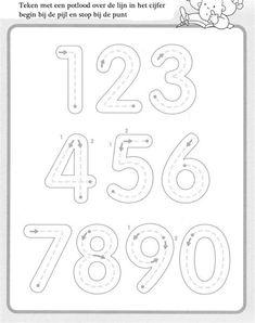 10 Worksheets De Grafomotricidad. Ficha Educativa Infantil Preschool Writing, Numbers Preschool, Preschool Printables, Preschool Worksheets, Preschool Learning, Kindergarten Math, Preschool Activities, Teaching, Number Worksheets
