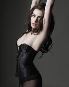 Anne Hathaway is : Photo