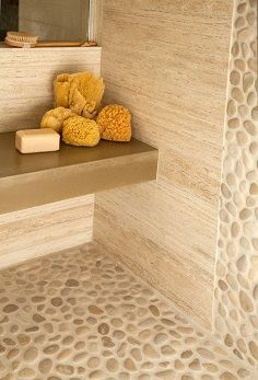 Tile materials into four broad categories- (1)Ceramic Tile, (2)Porcelain Tile, (3)Natural Stone and (4)Glass Tile. This will certainly help any person, designer or not, make the perfect selection for their home!