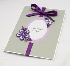 Quilling - Bday Card