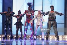 Starlight Express performs prior to the Jose Carreras Gala 2004 at the Messehalle on December 16, 2004 in Leipzig, Germany. The gala is a charity to raise money to fight leukemia.