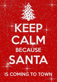 It's almost Christmas woohoo.... Santa Claus is coming to town~~~~
