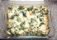 Zapekaná brokolica s mrkvou - recept postup 5 Quiche, Detox, Food And Drink, Baking, Breakfast, Health, Recipes, Dna, Morning Coffee