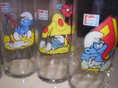 Smurfs Glass