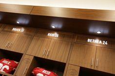 49ers Unveil Levi's Stadium Locker Room