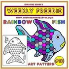 This art activity is based on the series of children's books, The Rainbow Fish, by Marcus Pfister. Use watercolors, crayons and glitter to create a fish that will sparkle as much as the original! Rainbow Fish Activities, Abc Activities, Fish Bulletin Boards, Rainbow Fish Bulletin Board, Rainbow Fish Template, Rainbow Fish Coloring Page, Kindergarten Rocks, Kindergarten Literacy, Ocean Unit