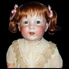 Adorable 21 Inch Scheutzmeister & Quendt Mold 201 Character Baby. Antique (pre-1930)