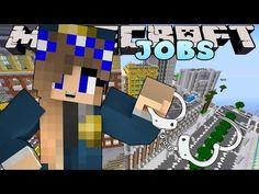 Minecraft Jobs -Little Carly - POLICE ACADEMY!! - YouTube