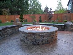 5 Awesome Tips: Fire Pit Backyard Rocks fire pit camping summer.Fire Pit Steel How To Build fire pit steel how to build.Fire Pit Bowl Back Yard. Fire Pit Area, Diy Fire Pit, Fire Pit Backyard, Backyard Patio, Backyard Landscaping, Gas Outdoor Fire Pit, Gas Fire Pits, Outdoor Gas Fireplace, Pavers Patio
