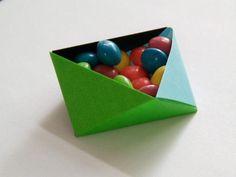 DIY Triangular Modular Origami Box DIY Origami DIY Craft