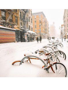 Les plus belles photos Instagram de la neige à New York 22