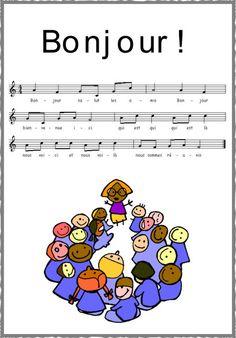 Bonjour la chanson du nouvel an