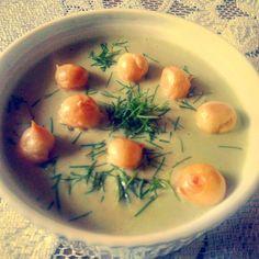 Krem z bobu 🍵#obiad #familia #marcingotuje #foodporn #bób #zielono #krem #soup #cream #dinnertime #borderbean #omnomnom