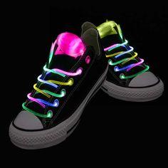 New & Improved! LED Shoelaces (Set of 2)