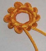 9 Petal flower knot. The website on this one has diagrams for those who prefer diagrams over photos of directions