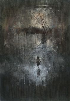 Federico Infante - from The Pathology of Nowhere series - acrylic (2012-2013)