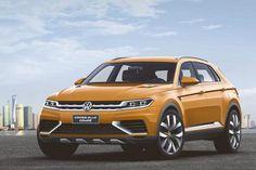 Debutto a Shanghai per la VW CrossBlue Coupé