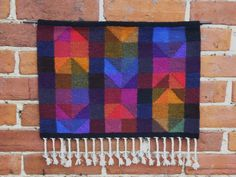Hand woven tapestry wall hanging by VirginiaClaireDesign on Etsy, £95.00