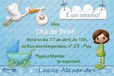Convite Digital - Chá de Bebê #1 | Festas Personalizadas | Lembrancinhas | Scrap Festa | Scrappiness Designs