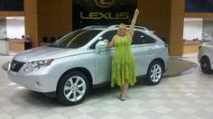 Congratulations to Lori for earning her Lexus bonus from Nerium!