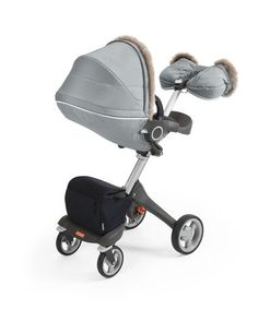 Stokke Stroller Winter Kit is designed as the perfect outerwear for your stroller. The insulated fabric together with the additional storm cover safeguards your child from harsh winter windes. Features genuine sheepskin rims. Your child will feel sng and stay protected from low temperatures and biting wind. while enjoying the wonders of winter.