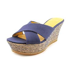 Nine West Women's Havaha Platform Slide Sandals ** Discover this special product, click the image : Wedge sandals