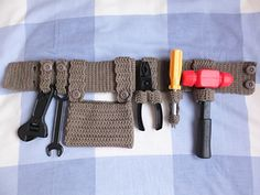 This tool belt is a necessity for anyone who want to dress up as a builder.