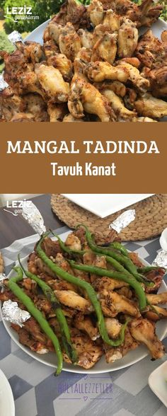 Mangal Tadında Tavuk Kanat Meat Recipes, Chicken Recipes, Grilled Chicken Wings, Colored Hair Tips, Homemade Beauty Products, Green Beans, Grilling, Health Fitness, Food And Drink