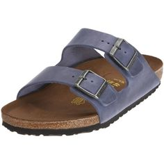 2a13fa9459 Birkenstock Sandals   Arizona   from Leather in Steelblue 46.0 EU N