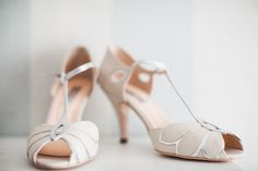 Mimosa in Ivory wedding shoes by Rachel Simpson  http://laurenmcglynnphotography.com/