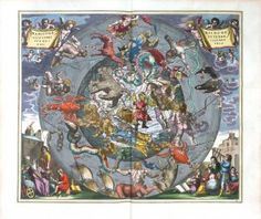 Celestial - Harmonia Macrocosmica of Andreas Cellarius Plate _25