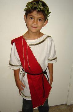 Costume Idea for Matthew's Caesar -  http://mymommatoldme.com/wp-content/uploads/2012/10/DSC08317-666x1024.jpg