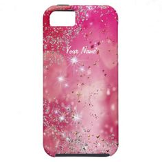 Cherry Heart Sparkle - Customize iPhone 5 Cases