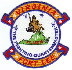 Us Army Post Patch Fort Lee Virginia The Fighting Quartermaster Y