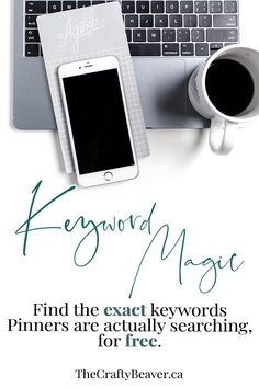 Keyword magic - how to find the exact keywords Pinners are actually searching for.for free Pinterest Board Names, Pinterest Blog, Apps, Blog Topics, Pinterest For Business, Blogging For Beginners, Pinterest Marketing, Social Media Tips, Facebook