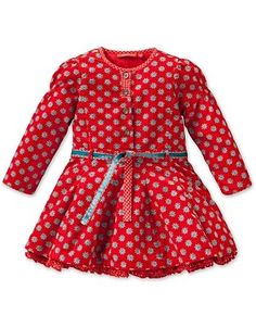 Oilily Dream Red Tile Print Dress