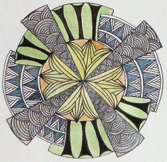 Deco 'Dala in Color - Tinker Tangles